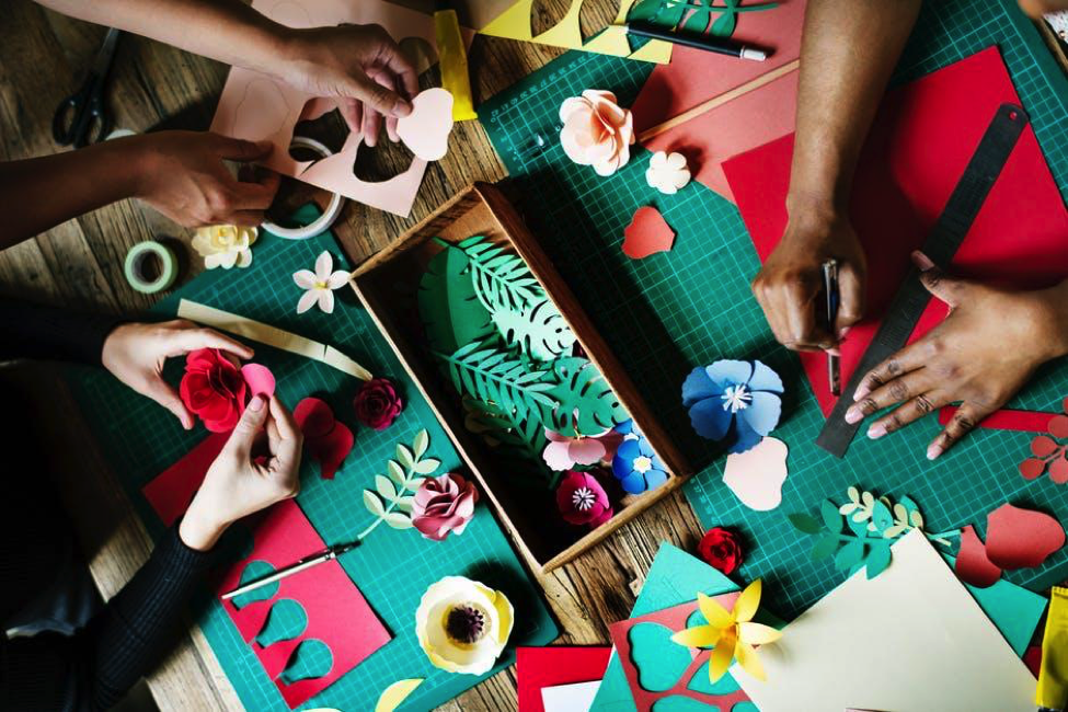 Get Crafty- How to be creative on a budget