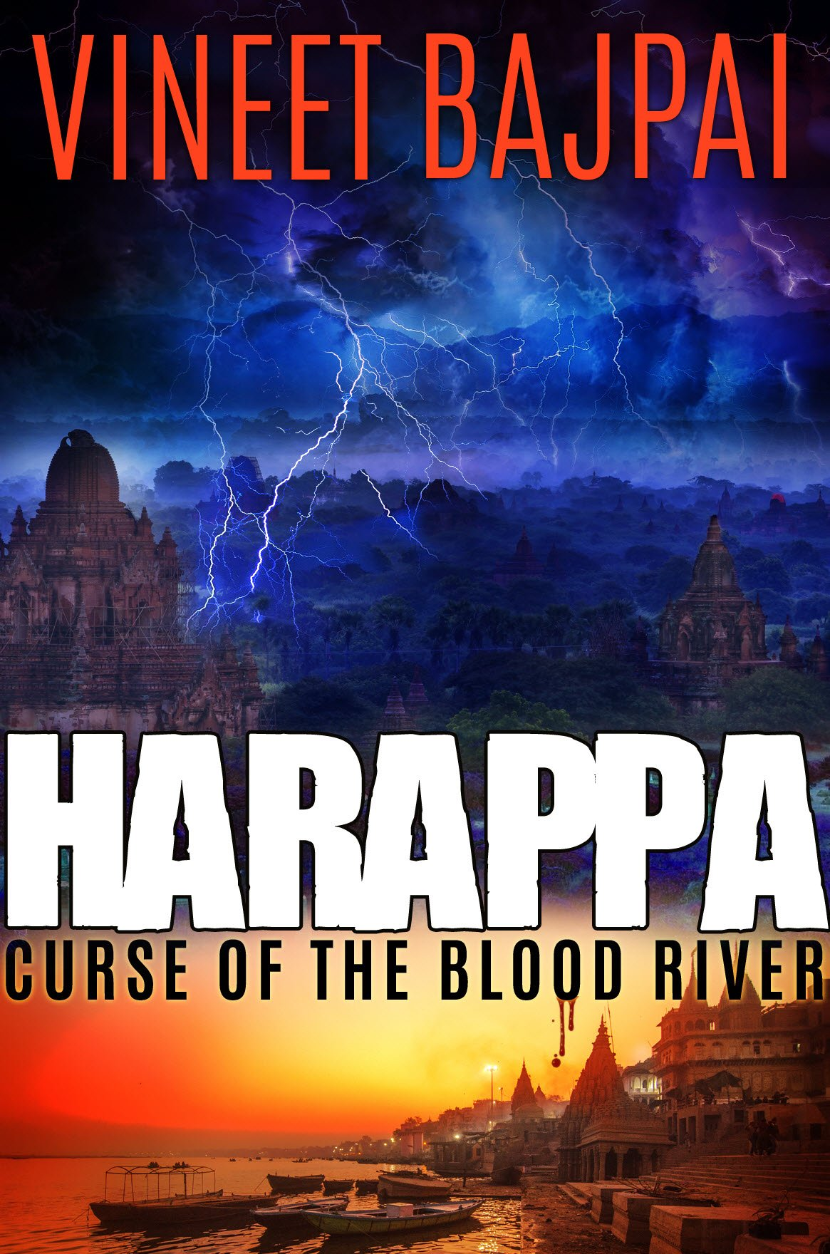 Harappa: Curse of Blood River by Vineet Bajpai, a book I am looking forward to read