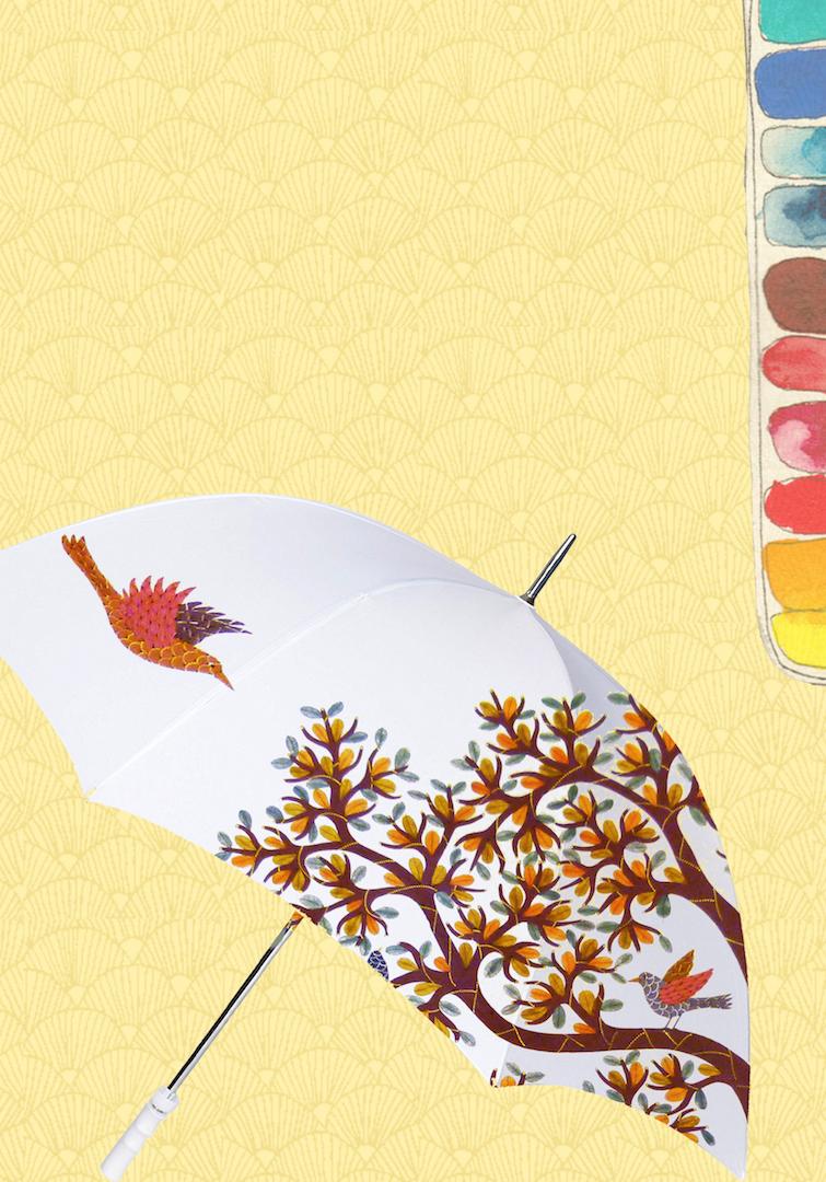 Celebrate Monsoon with Gond Painting on Umbrella Workshop by 'Baaya Design'
