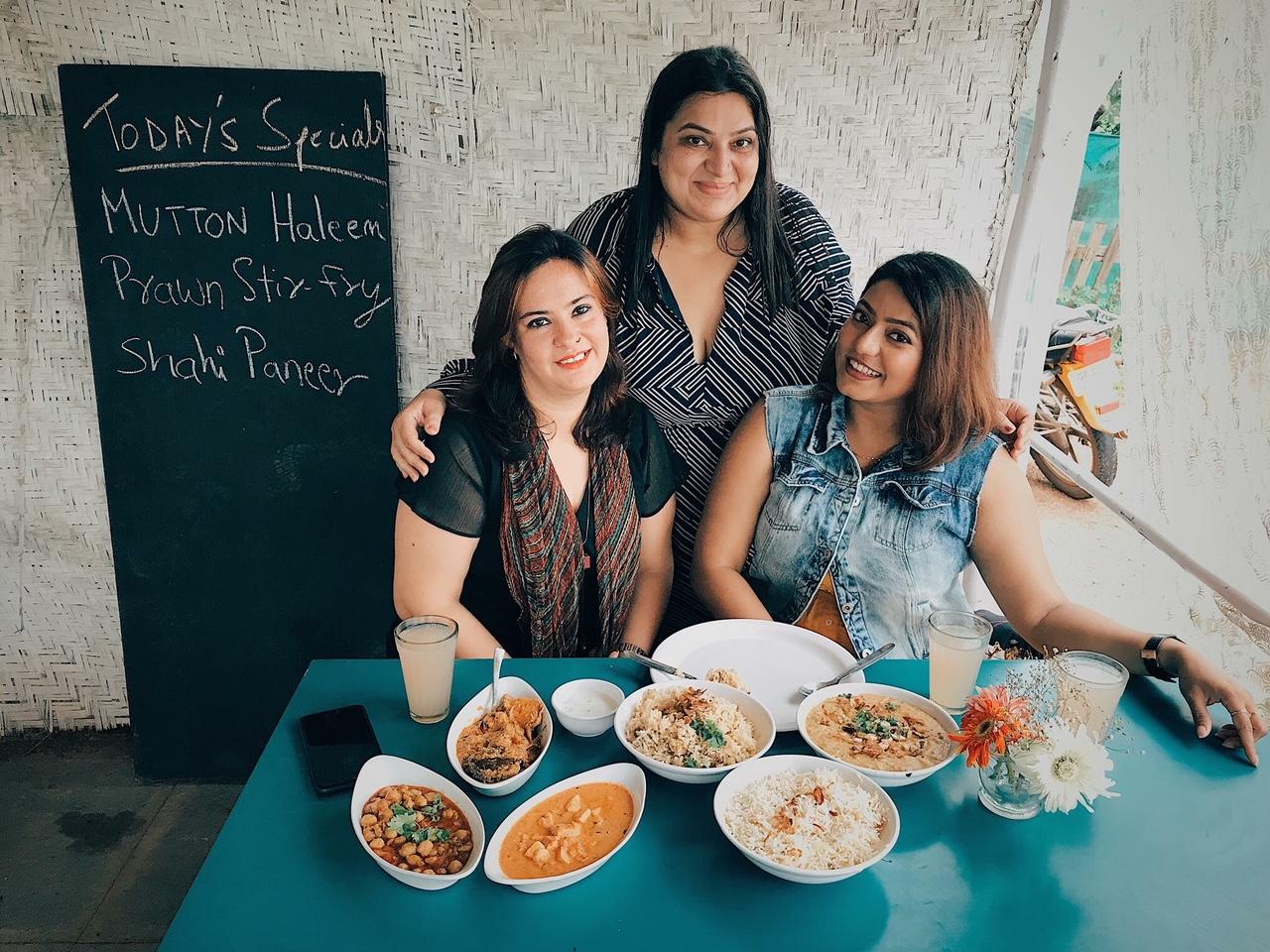 Feasting at Laila's Cafe, Goa