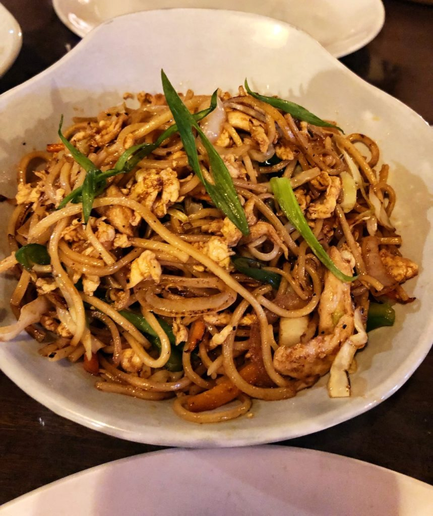 HongKong Stir Fry Chicken Noodles
