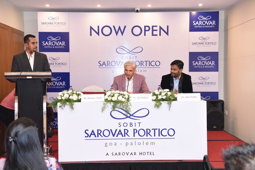 Sobit Sarovar Portico Press Conference