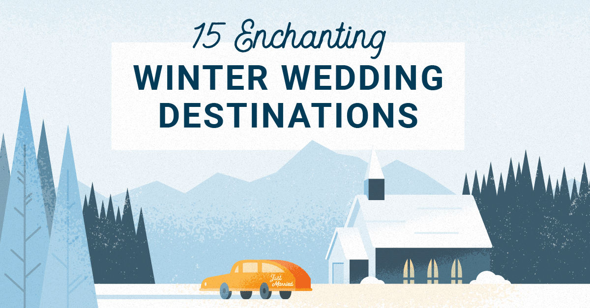 15 Enchanting Winter Wedding Venues!
