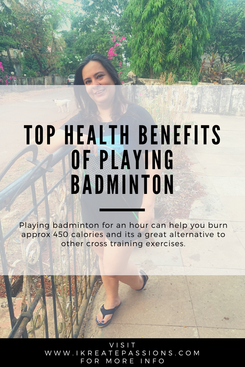 Top Health Benefits of Playing Badminton!