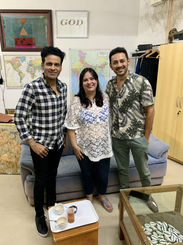 Manoj Bajpayee and Apurva Asrani